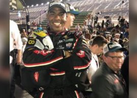 Derrell Edwards makes NASCAR history