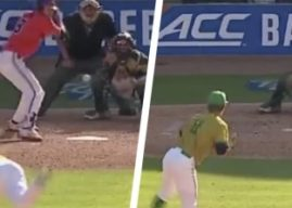 Clemson's Logan Davidson hits home runs from both sides of the plate — in the same inning — during Tigers' 17-run frame in ACC tournament