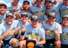 Middlebury tops Bowdoin to win 2018 DIII men's tennis championship, third in school history