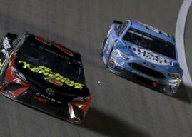How does Kevin Harvick's 2018 dominance compare to Martin Truex Jr.'s 2017 title performance?
