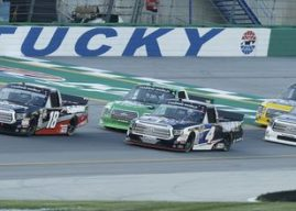 Todd Bodine says the Truck Series is consistently the best race of the weekend