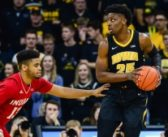 No. 21 Iowa survives Indiana in overtime, 76-70