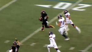 Check out this 92-yard kick off return TD in our FCS top plays