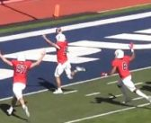 A fumbled snap returned for a touchdown tops this week's DII football top plays