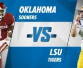 No. 4 Oklahoma and No. 1 LSU square off in the CFP semifinals
